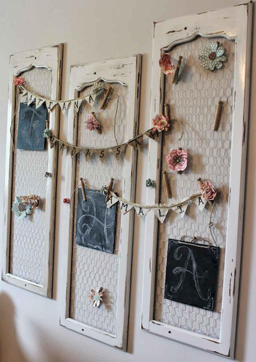 Romantic shabby chic living room decoration ideas (21)
