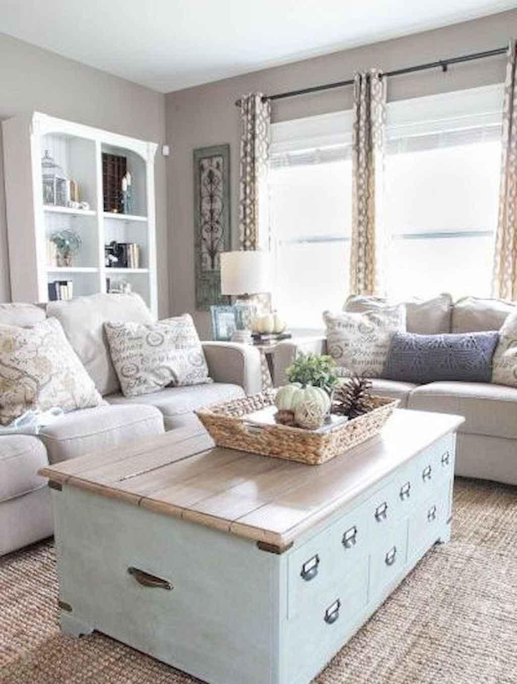 Romantic Living Room: Romantic Shabby Chic Living Room Decoration Ideas (4