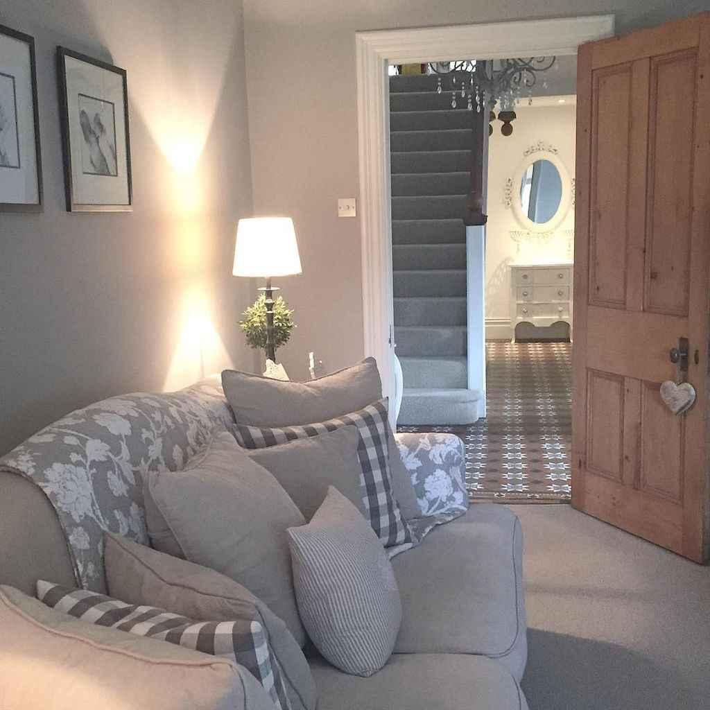 Romantic shabby chic living room decoration ideas (42)