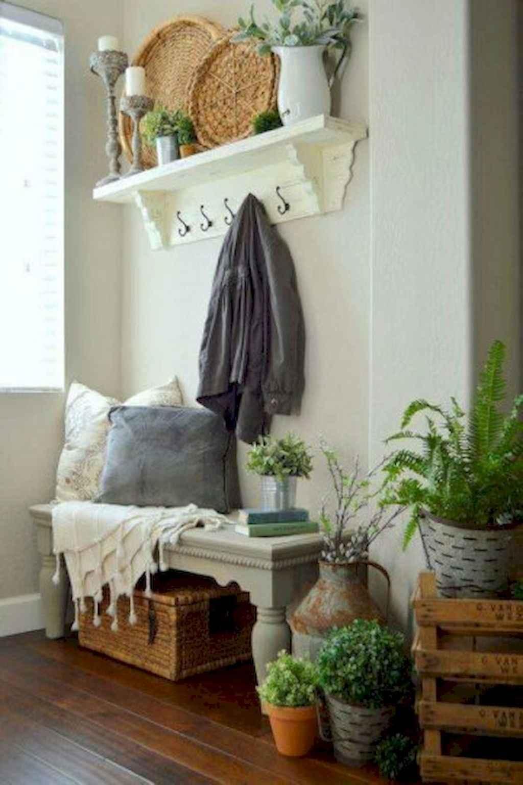 Romantic shabby chic living room decoration ideas (44)