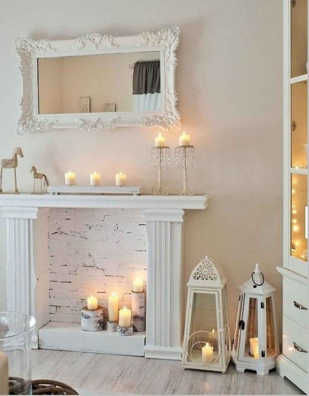 Romantic shabby chic living room decoration ideas (7)