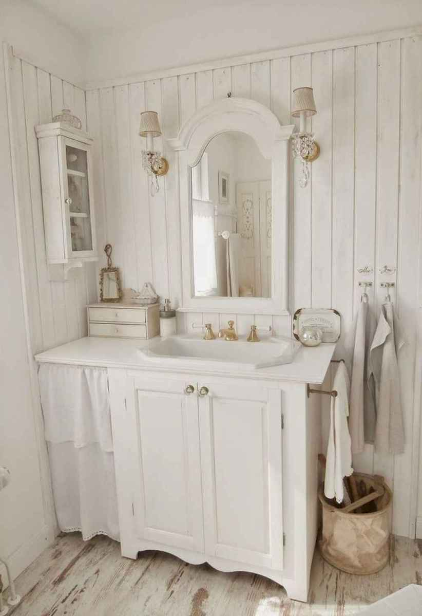 Shabby chic bathroom remodel ideas (2)