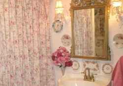 Shabby chic bathroom remodel ideas (42)