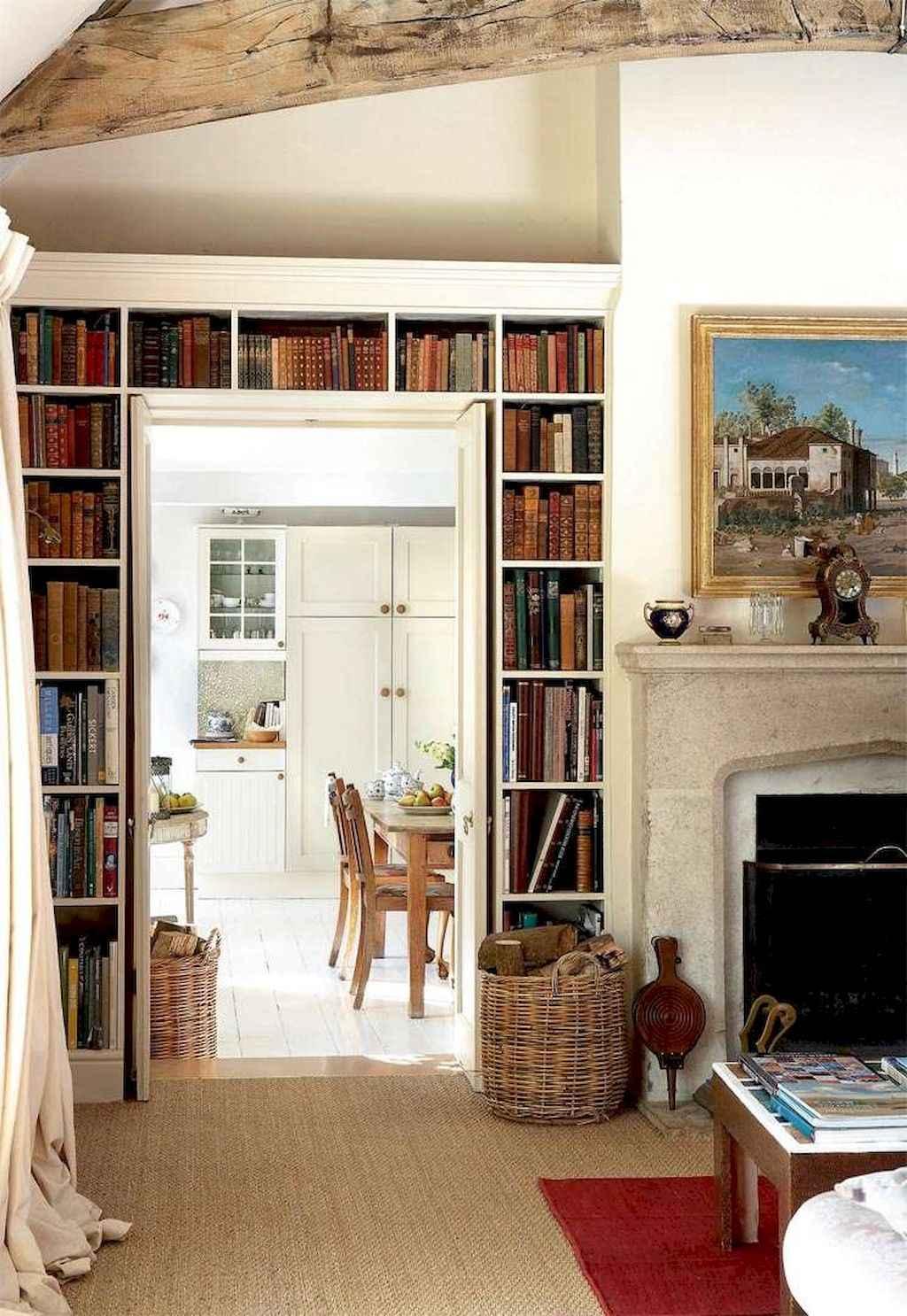 Simple clean vintage living room decorating ideas (1)