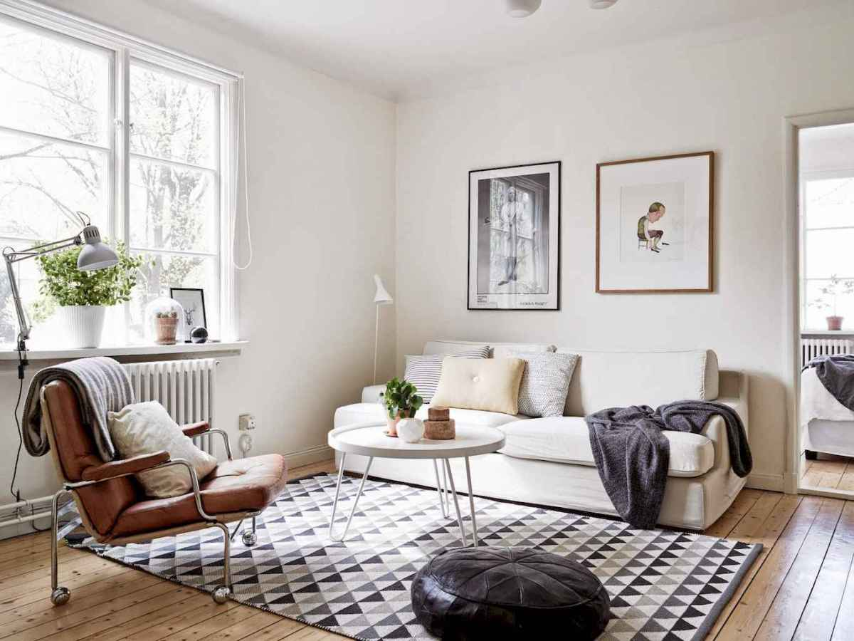 Simple clean vintage living room decorating ideas (12)