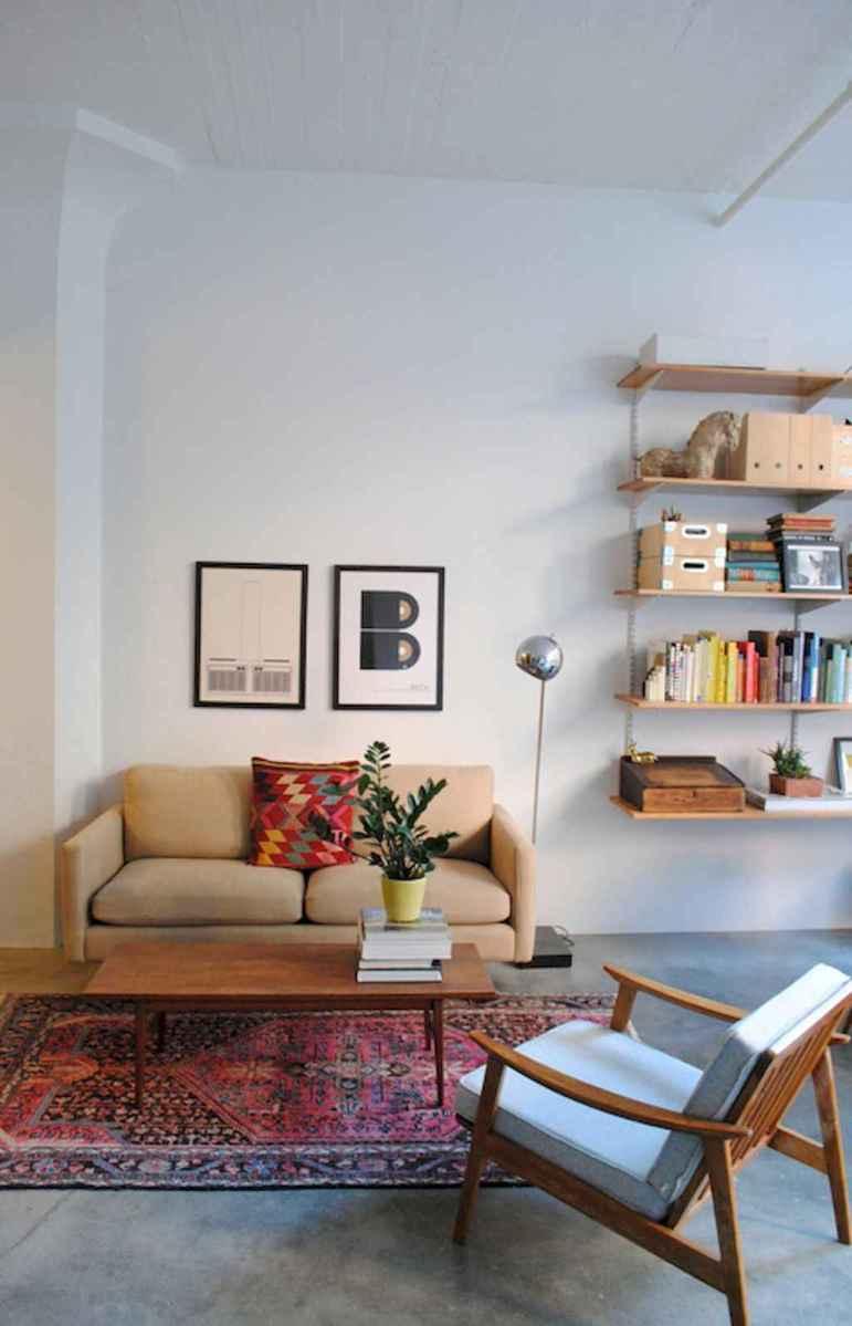 Simple clean vintage living room decorating ideas (14)