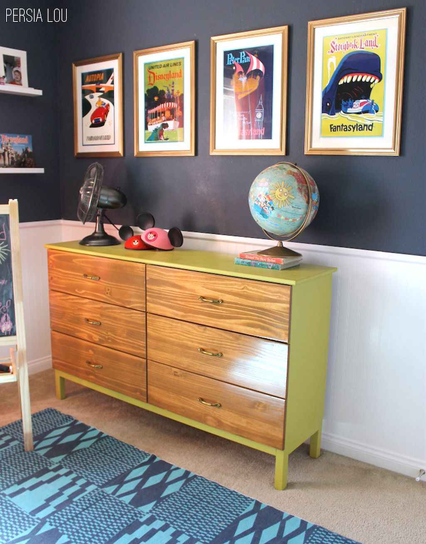 Simple clean vintage living room decorating ideas (18)