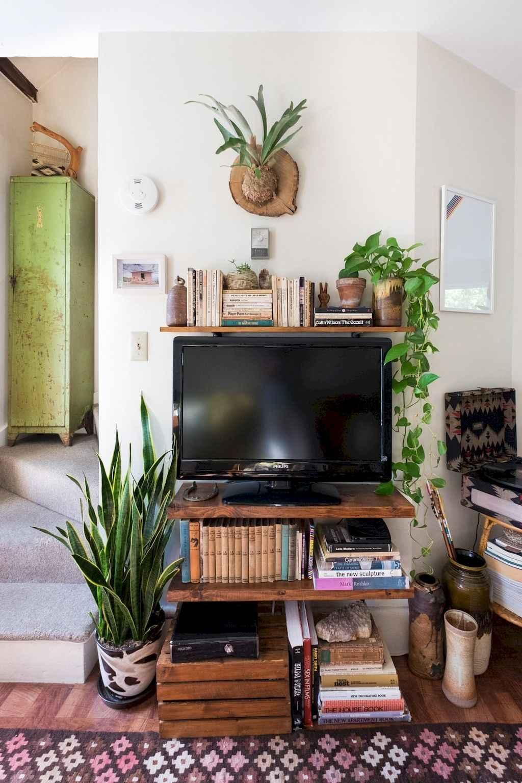 Simple clean vintage living room decorating ideas (3)