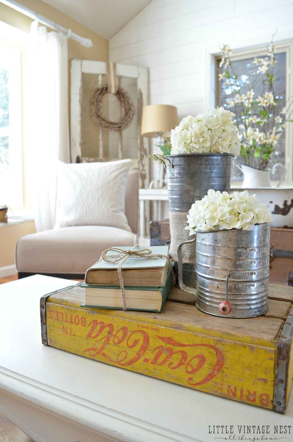 Simple clean vintage living room decorating ideas (42)