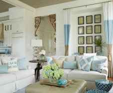 Wonderful coastal living room design & decor ideas (19)