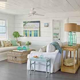 Wonderful coastal living room design & decor ideas (32)