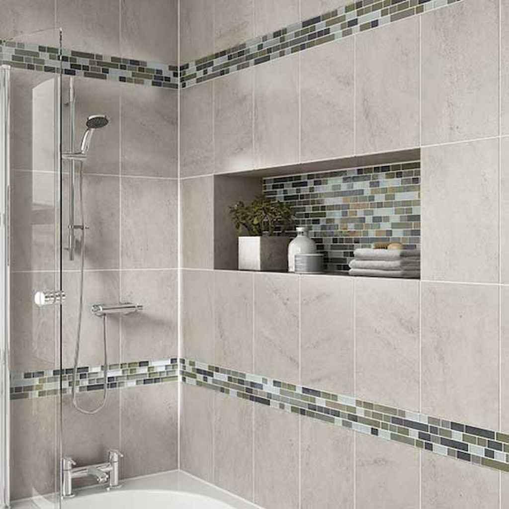 Beautiful bathroom tile remodel ideas (14)
