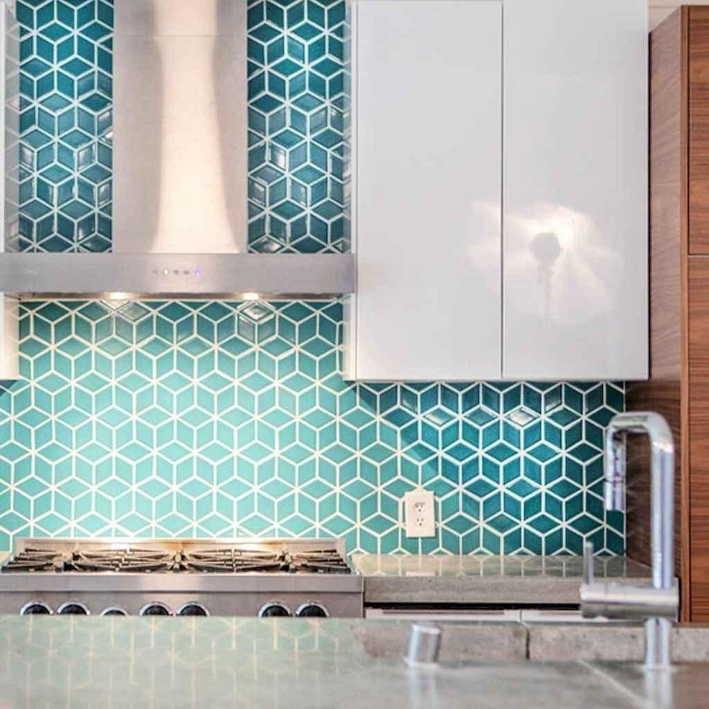 Beautiful kitchen remodel backsplash tile ideas (71)