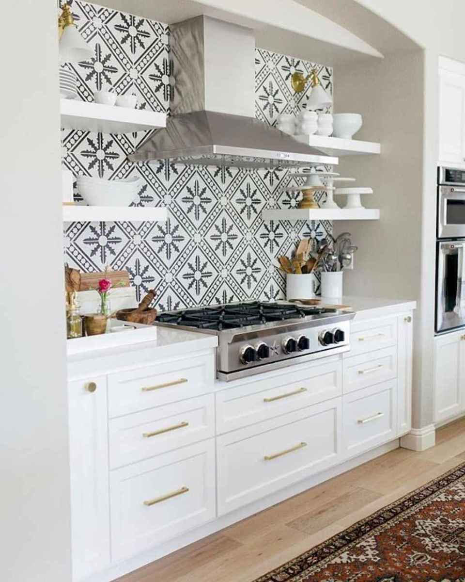 Beautiful kitchen remodel backsplash tile ideas (88)