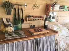 Best rv camper van interior decorating ideas (16)