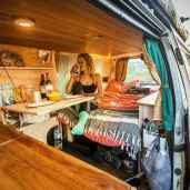 Best rv camper van interior decorating ideas (40)