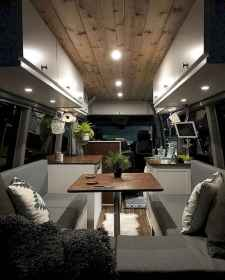 Best rv camper van interior decorating ideas (44)