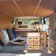 Best rv camper van interior decorating ideas (59)