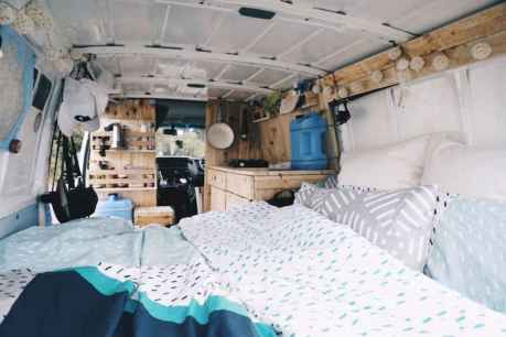 Best rv camper van interior decorating ideas (62)
