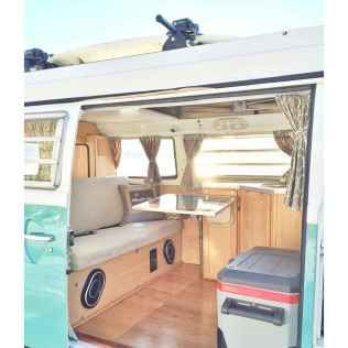 Best rv camper van interior decorating ideas (63)