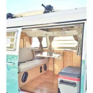Best rv camper van interior decorating ideas (63)