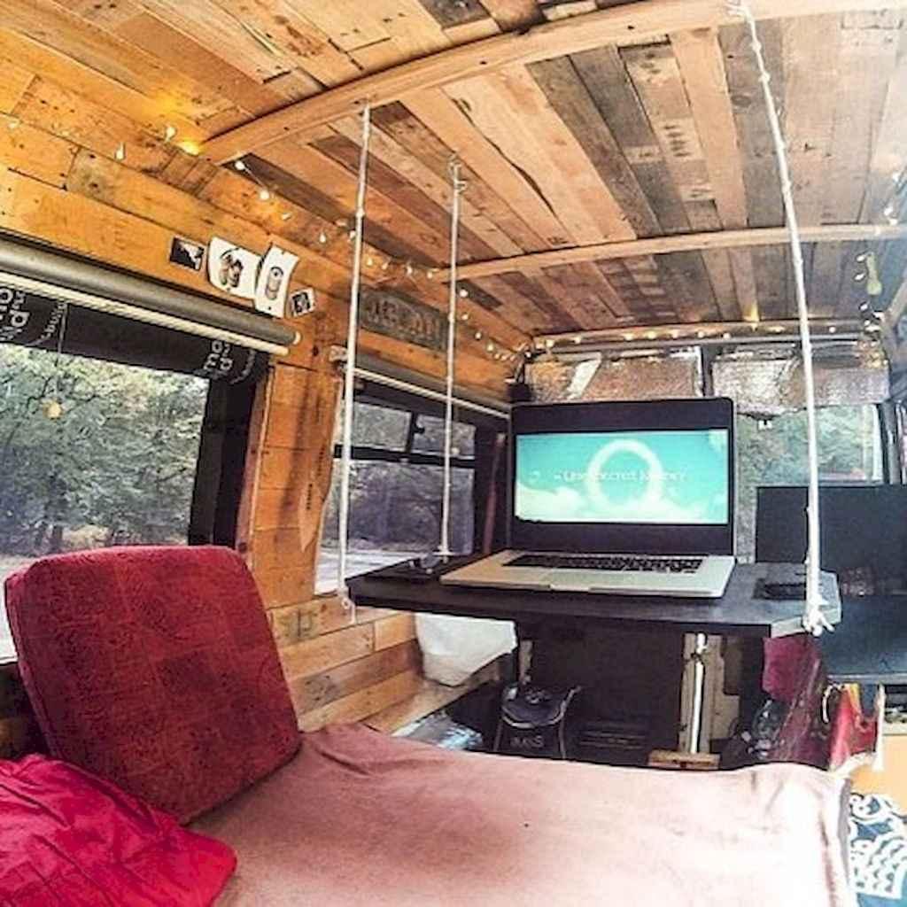 Best Rv Camper Van Interior Decorating Ideas (70