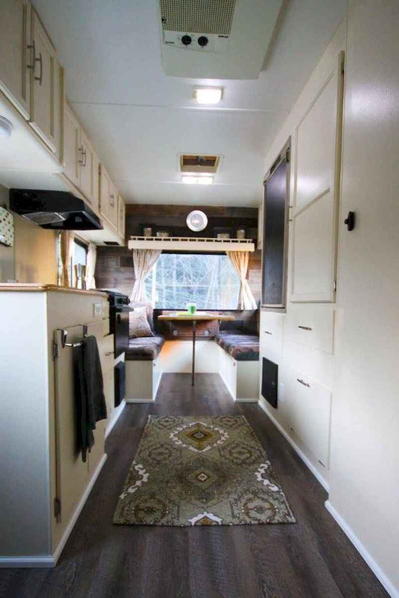 Best travel trailers remodel for rv living ideas (12)
