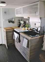 Best travel trailers remodel for rv living ideas (14)
