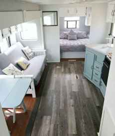 Best travel trailers remodel for rv living ideas (26)