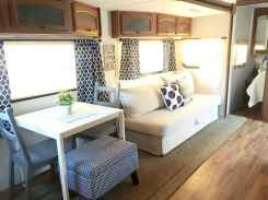 Best travel trailers remodel for rv living ideas (54)