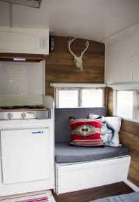 Best travel trailers remodel for rv living ideas (59)