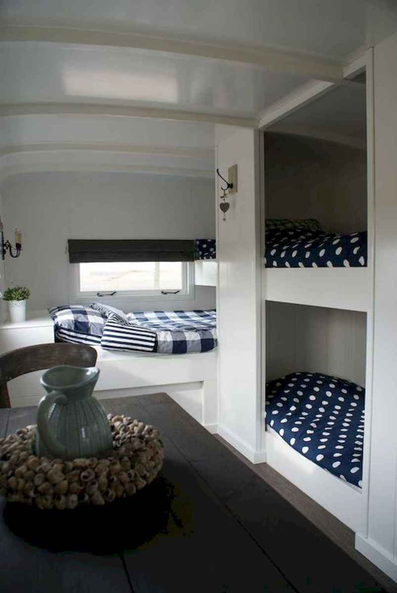 Best travel trailers remodel for rv living ideas (78)
