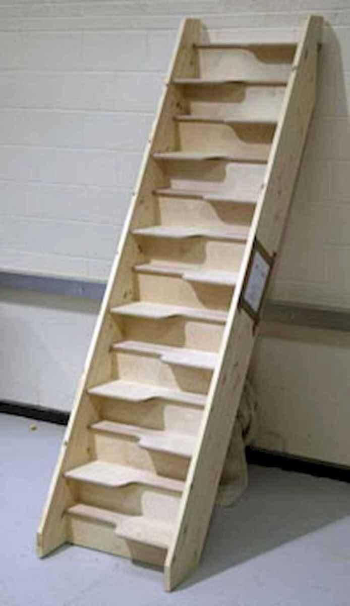 Creative loft stair with space saving ideas (37)