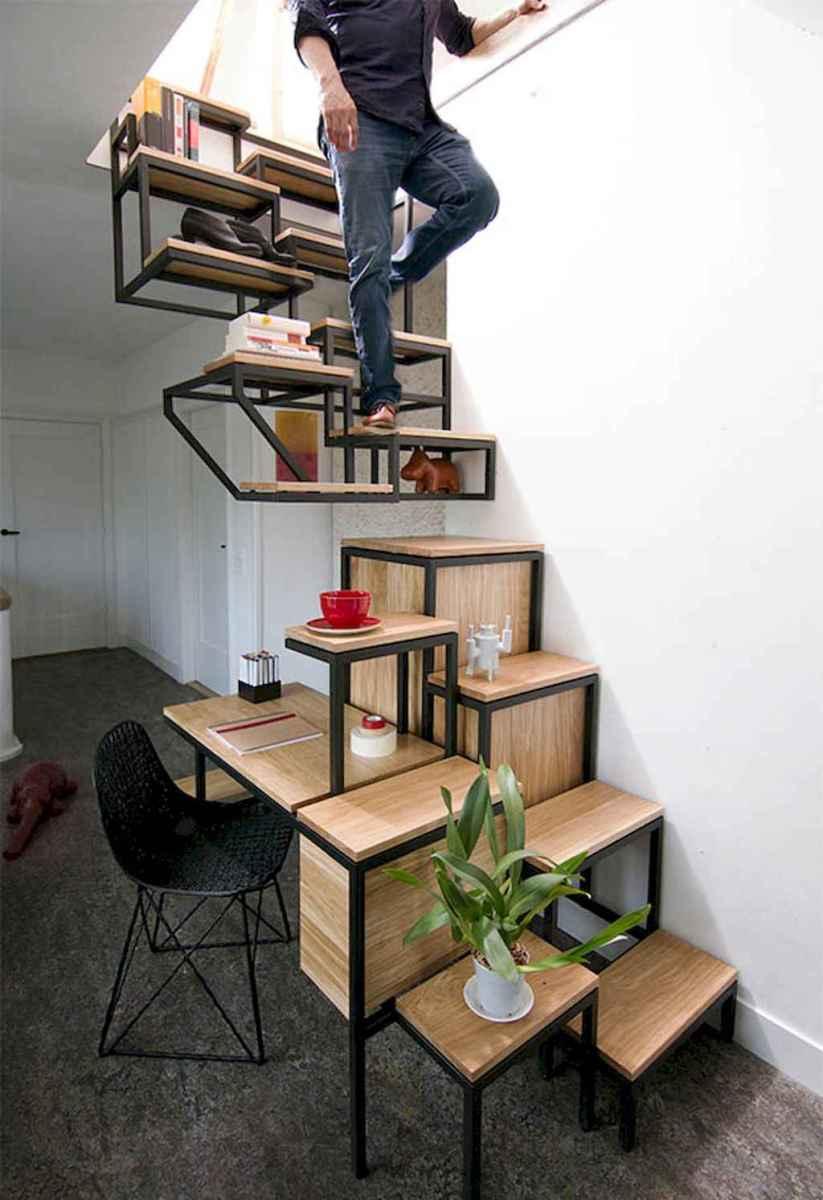 Creative loft stair with space saving ideas (6)