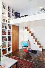 Creative loft stair with space saving ideas (68)
