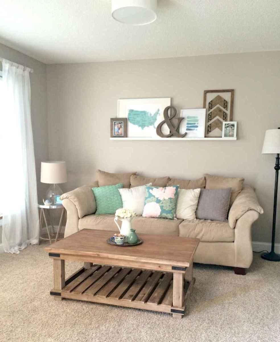 Diy rental apartment decorating ideas (20)