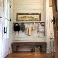 Farmhouse entryway mudroom ideas (27)