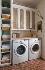 Farmhouse style laundry room makeover ideas (11)