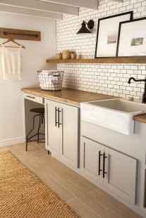 Farmhouse style laundry room makeover ideas (18)