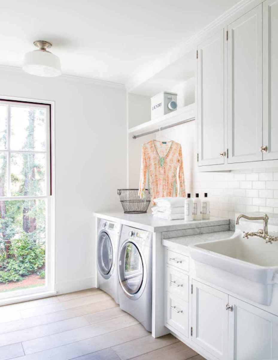 Farmhouse style laundry room makeover ideas (3)