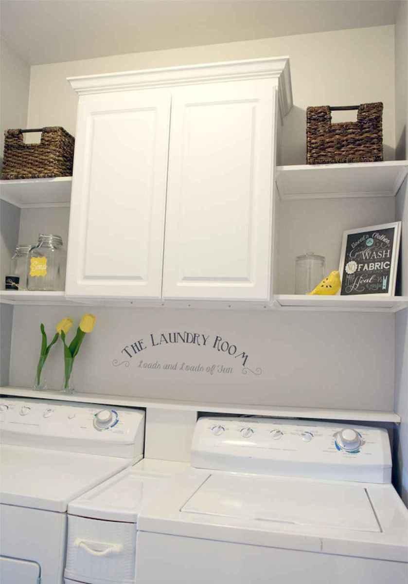 Farmhouse style laundry room makeover ideas (44)