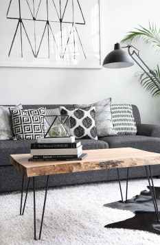 Rustic farmhouse coffee table ideas (10)