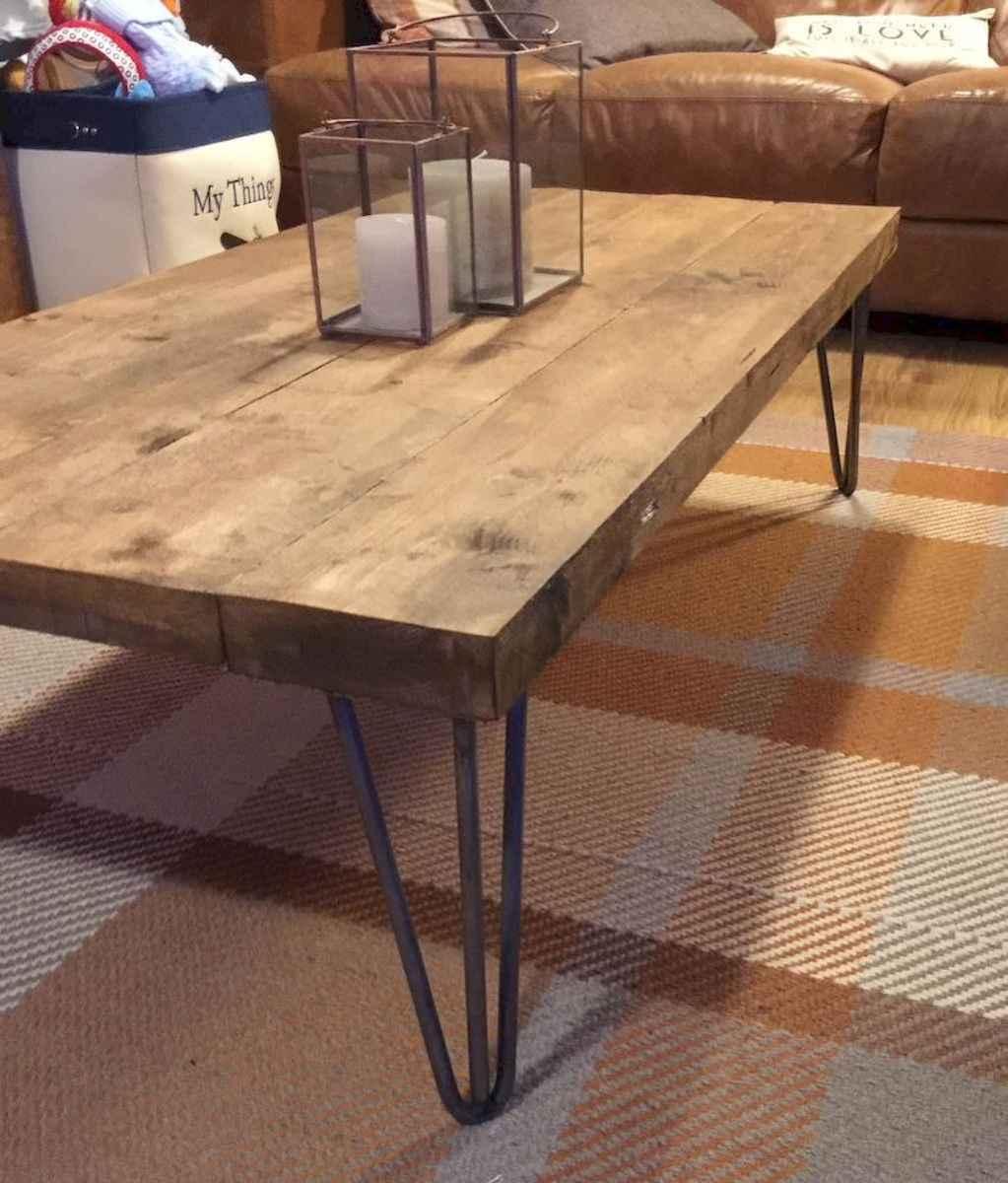 Rustic farmhouse coffee table ideas (11)