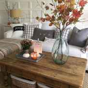 Rustic farmhouse coffee table ideas (17)
