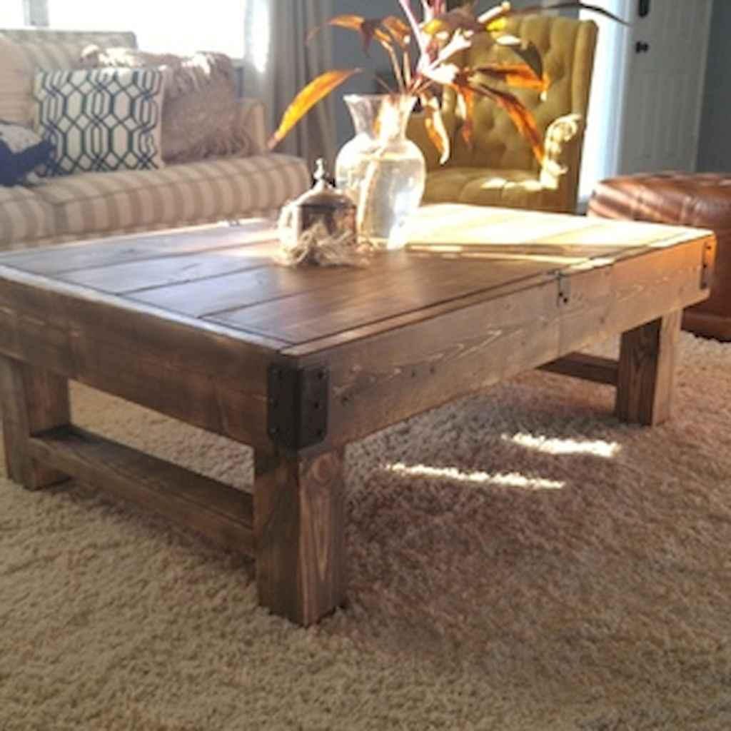 Rustic farmhouse coffee table ideas (2)