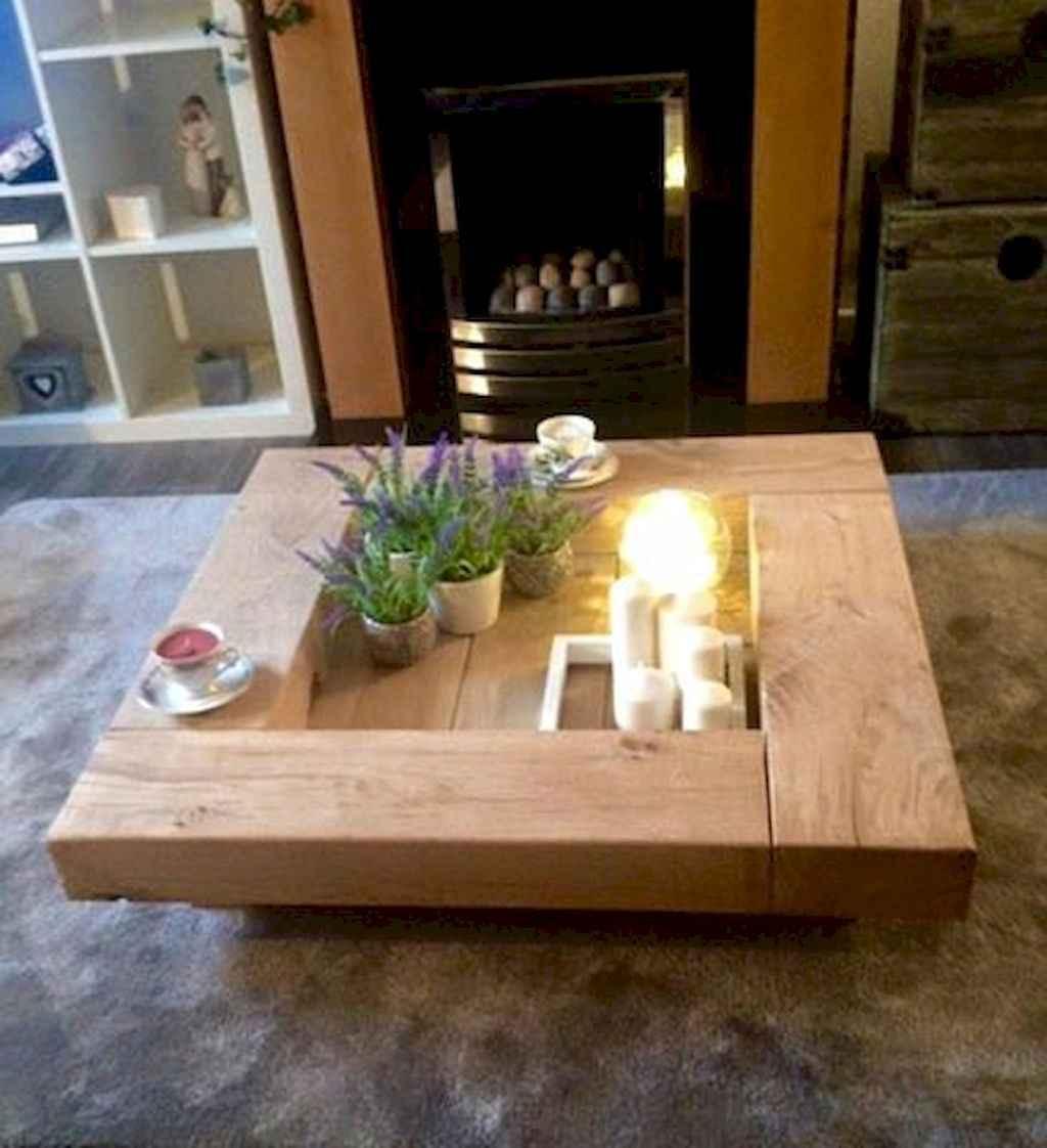 Rustic farmhouse coffee table ideas (55)