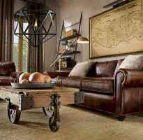 Rustic farmhouse coffee table ideas (6)