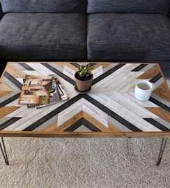 Rustic farmhouse coffee table ideas (88)
