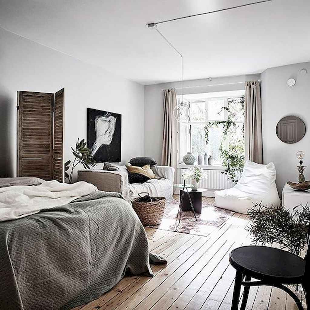 Small apartment studio decorating ideas on a budget (18)