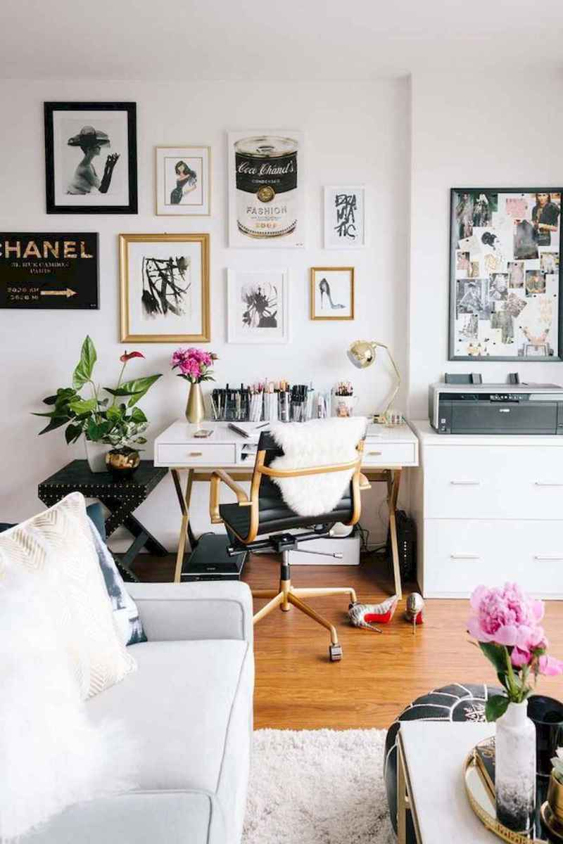 Small apartment studio decorating ideas on a budget (54)
